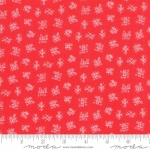 MODA FABRICS - Best Friends Forever - Tic Tac Toe Red