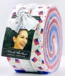 Holiday Americana Jelly Roll by Stacy Iest Hsu Moda Precuts