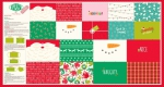 MODA FABRICS - Safety First Holiday Panel by Stacy Iest Hsu - PANEL - Face Mask Panel - PL470--