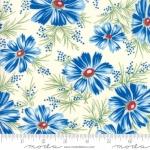 MODA FABRICS - Sweet Harmony - Large Floral Blue