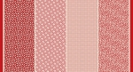 MODA FABRICS - Bubble Pop - Four In One - Red