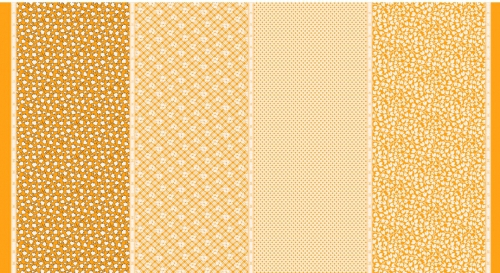 MODA FABRICS - Bubble Pop - Four In One - Yellow