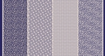 MODA FABRICS - Bubble Pop - Four In One - Navy