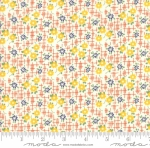 MODA FABRICS - Bubble Pop - Small Flowers - Orange