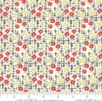 MODA FABRICS - Bubble Pop - Small Flowers - Black