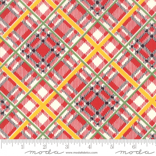 MODA FABRICS - Bubble Pop - Plaid - Red