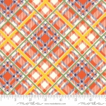 MODA FABRICS - Bubble Pop - Plaid - Orange