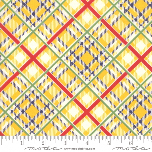 MODA FABRICS - Bubble Pop - Plaid - Yellow