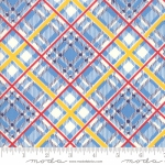 MODA FABRICS - Bubble Pop - Plaid - Blue
