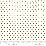 MODA FABRICS - Bubble Pop - Polka Dots - White/Black