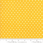 MODA FABRICS - Bubble Pop - Polka Dots - Yellow