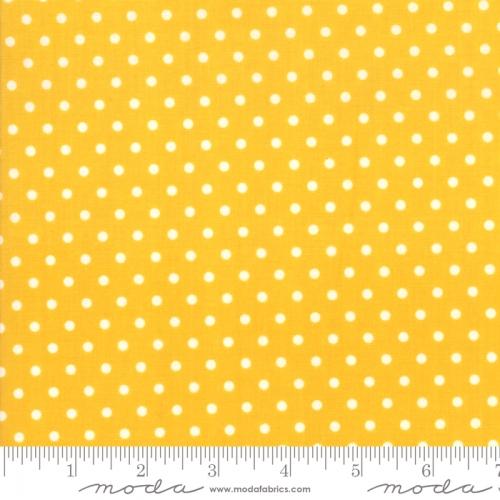 MODA FABRICS - Bubble Pop - Polka Dots - Yellow