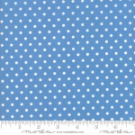 MODA FABRICS - Bubble Pop - Polka Dots - Blue