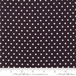 MODA FABRICS - Bubble Pop - Polka Dots - Black