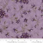 MODA FABRICS - Sweet Violet - Tossed Flowers Lilac