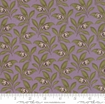 MODA FABRICS - Sweet Violet - Leaves Lilac