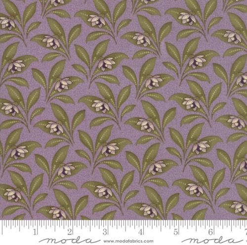 MODA FABRICS - Sweet Violet - Leaves Lilac