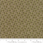 MODA FABRICS - Sweet Violet - Flower Field Leaf