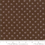 MODA FABRICS - Sweet Violet - Tiny Flower Earth - #2843-