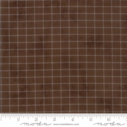 MODA FABRICS - Sweet Violet - Plaid Earth
