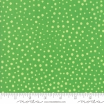 MODA FABRICS - Flower Sacks - Tonal Polka Dot Green