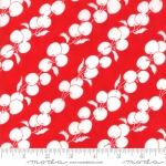 MODA FABRICS - Badda Bing - Me and My Sister - Flying Cherries - Red #2048