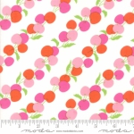 MODA FABRICS - Badda Bing - Me and My Sister - Flying Cherries - Pink #2049