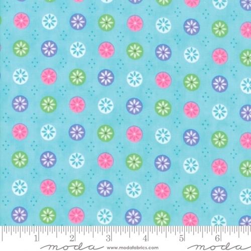 Skinny - SK3114- 7/8 yds - MODA FABRICS - Flower Sacks - Button Flowers