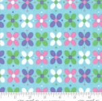 MODA FABRICS - Flower Sacks - Floral Aqua Multi