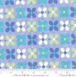 MODA FABRICS - Flower Sacks - Floral Blue