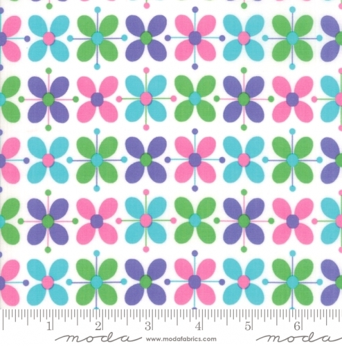 MODA FABRICS - Flower Sacks - Floral Multi - #1881