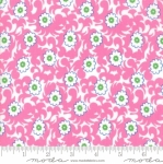 MODA FABRICS - Flower Sacks - Vines Pink