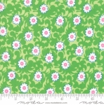 MODA FABRICS - Flower Sacks - Vines Green
