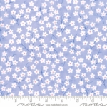 MODA FABRICS - Flower Sacks - Tossed Flowers Lavender - #1869