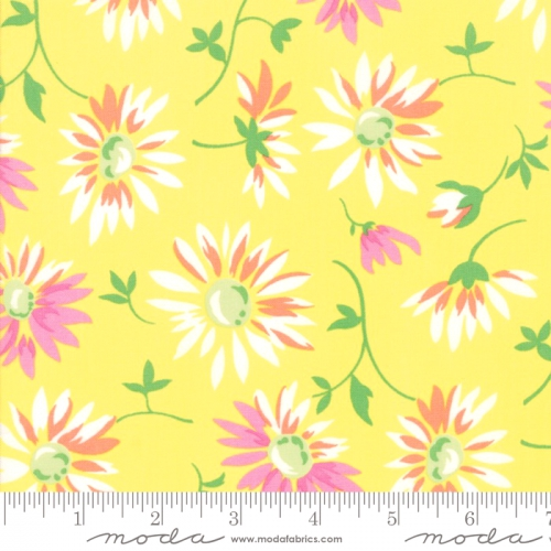 MODA FABRICS - Good Day - Yellow - #3124-