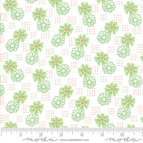 MODA FABRICS - Good Day - Green - #3138-
