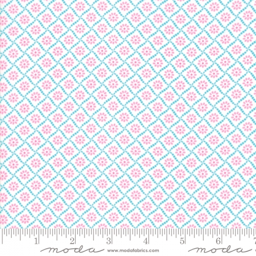 MODA FABRICS - Good Day - Turquoise - #3141-