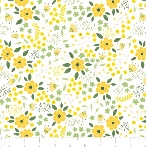 CAMELOT FABRIC - Brightside Blooms - #2246-