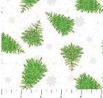 NORTHCOTT - Double Decker Xmas - Trees - White