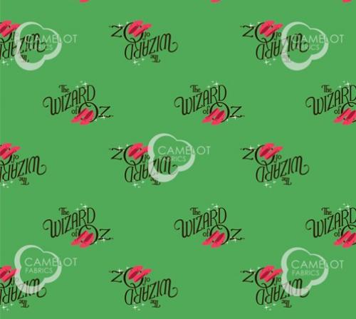 CAMELOT - Wizard of Oz - Oz Logo - Green