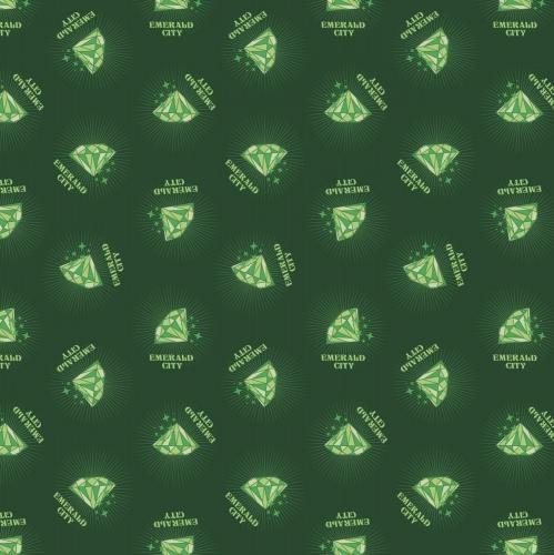 CAMELOT - Wizard of Oz - Emerald City - Green