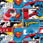 CAMELOT FABRICS - Superman - Superman Stripe - Multi