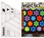 Sidekick Ruler / Night Sky Pattern Combo