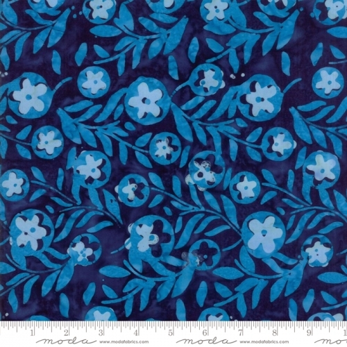 MODA FABRICS - Calypso - Floral Lagoon - K85046-