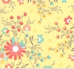 MODA FABRICS - Sunnyside Up - Golden Flowers