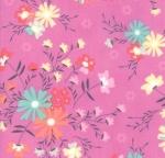 MODA FABRICS - Sunnyside Up - Pink Flowers