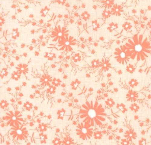 MODA FABRICS - Sunnyside Up - Coral Tone on Tone