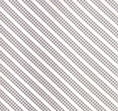 MODA FABRICS - Sunnyside Up - Gray Stripe