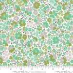 MODA FABRICS - Strawberry Jam - Blossoms Green