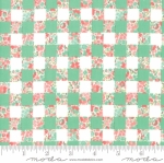 MODA FABRICS - Strawberry Jam - Checkerboard Mint